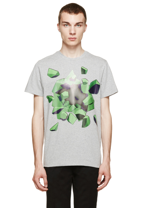 Christopher Kane Heather Grey Explosion T-shirt