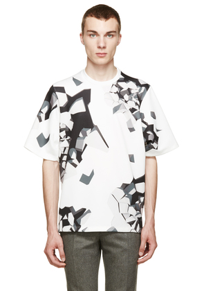 Christopher Kane White Oversized Wallbreak T-shirt