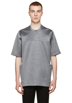 Christopher Kane Grey Oversized Stretch T-shirt