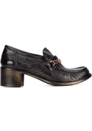 Silvano Sassetti chain detail loafers