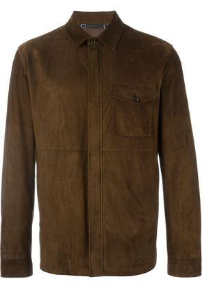 Ermenegildo Zegna zipped shirt jacket