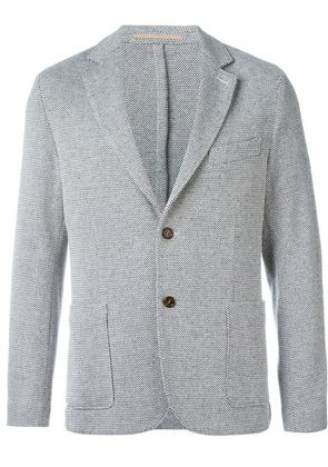 Eleventy button blazer