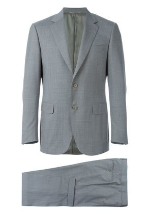 Canali houndstooth print suit