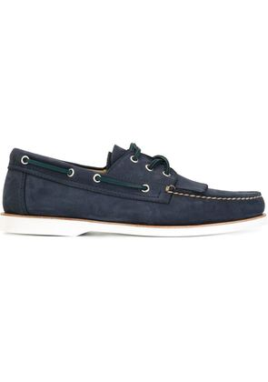Canali fringed deck shoes