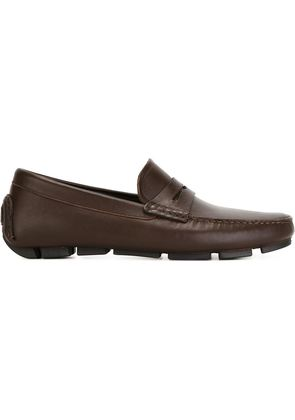 Canali classic penny loafers