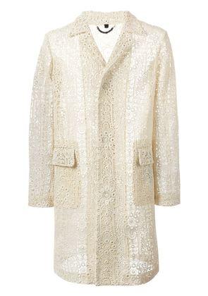 Burberry Prorsum Italian lace midi coat