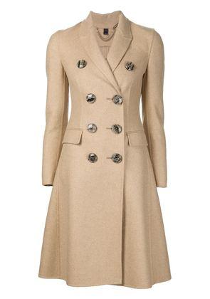 Burberry Prorsum single breasted back slit coat