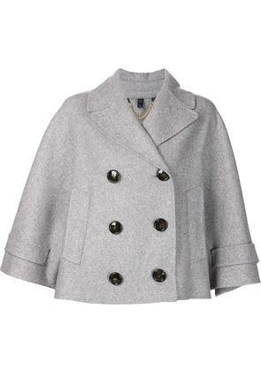 Burberry Prorsum wide sleeve crop jacket