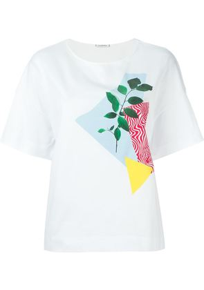 Iceberg collage print T-shirt