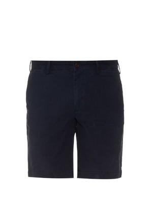 Brushed-cotton chino shorts