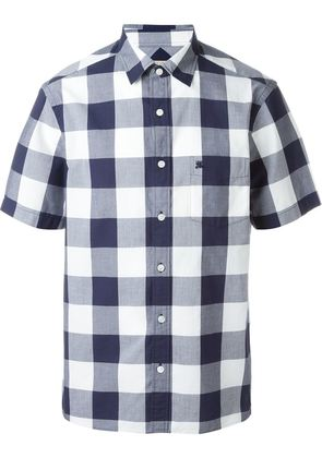 Burberry Brit shortsleeved checked shirt