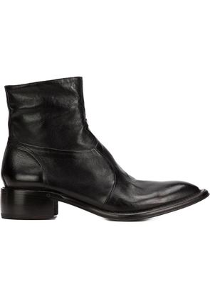 Silvano Sassetti side zip boots