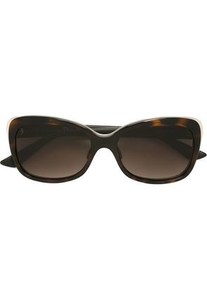 Dior Homme 'Diorific' contrast frame oversize sunglasses