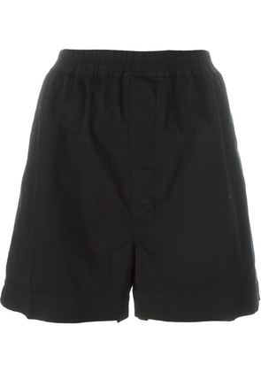 Rick Owens DRKSHDW A-line shorts