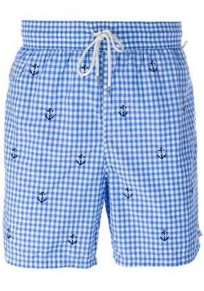 Polo Ralph Lauren gingham check swim shorts