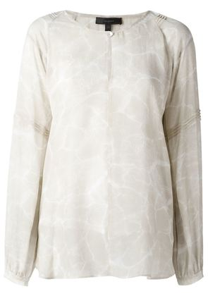 Belstaff sheer printed blouse