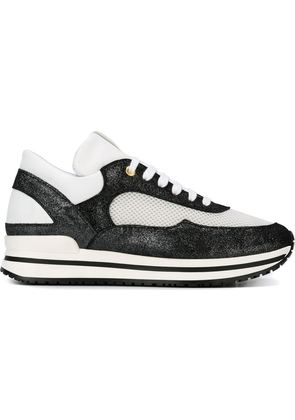 Eleventy panelled sneakers