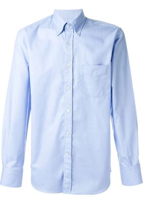 Canali button-down collar shirt