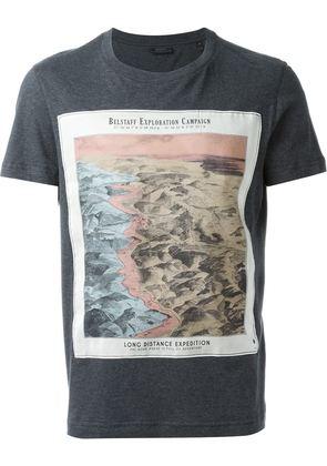 Belstaff map print T-shirt
