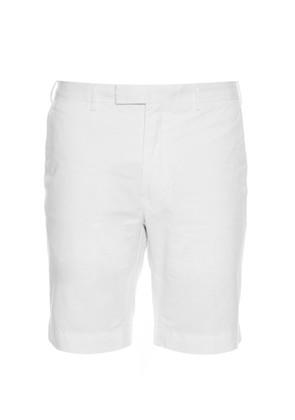 Slim-fit stretch-twill chino shorts