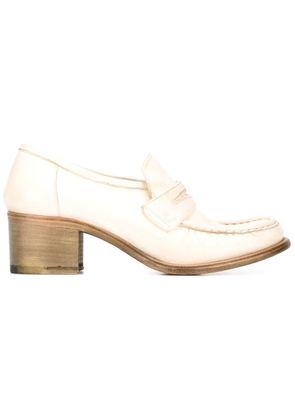 Silvano Sassetti mid heels loafers