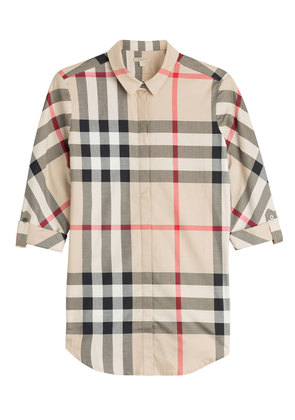 Burberry Brit Printed Cotton Shirt - beige