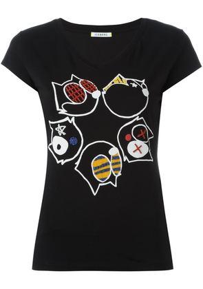 Iceberg embellished T-shirt