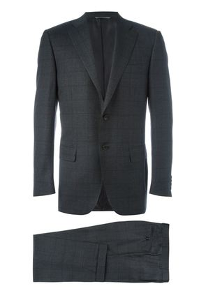 Canali checked pattern two-piece suit