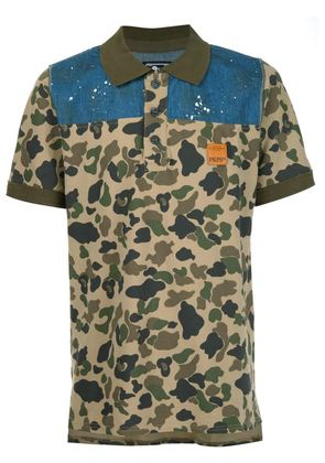 Prps camouflage print shirt