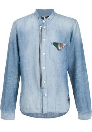 Prps flap pocket detail denim shirt