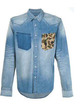 Prps chest pocket detail shirt