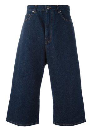 Christopher Kane cropped denim trousers