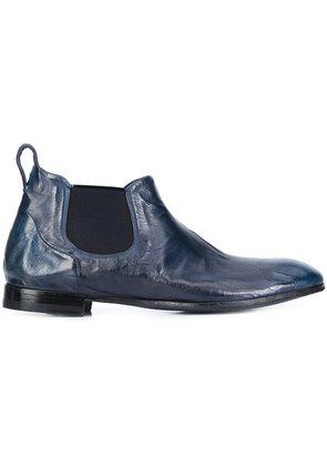 Silvano Sassetti distressed chelsea boots