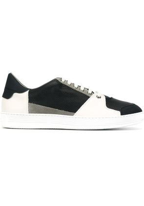 Canali paneled sneakers