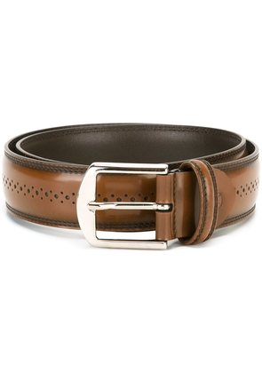 Canali perforated belt