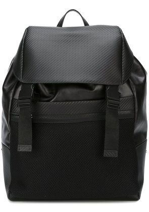 Canali leather backpack