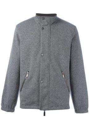 Canali reversible jacket