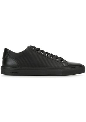 Canali textured low sneakers