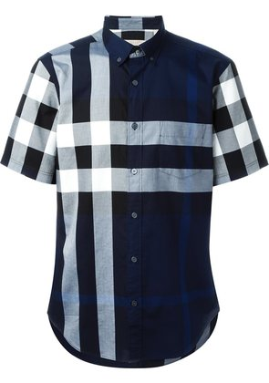 Burberry Brit checked shortsleeved shirt