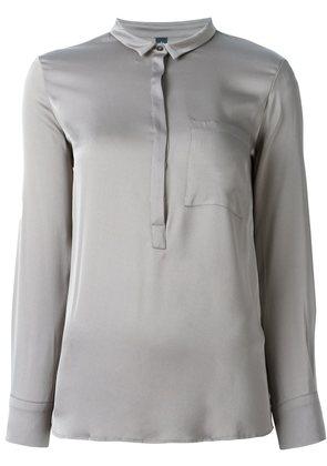 Eleventy henley blouse