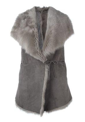 Eleventy shearling vest