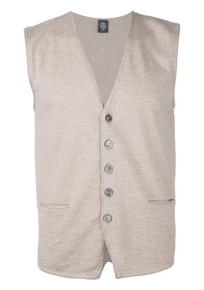 Eleventy button down cardigan vest