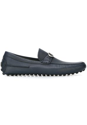 Dior Homme logo buckle driving shoes