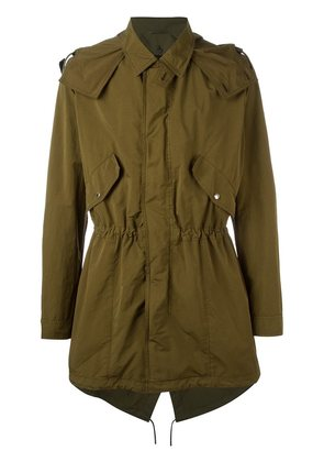 Dior Homme gathered military jacket