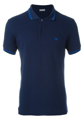 Dior Homme embroidered bee polo shirt