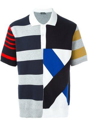 Dior Homme striped polo shirt