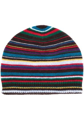 Paul Smith striped knitted beanie
