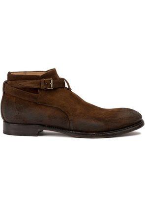 Silvano Sassetti buckled strap boots