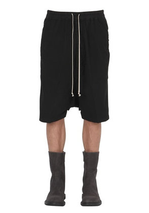 DRKSHDW STRETCH COTTON SHORTS