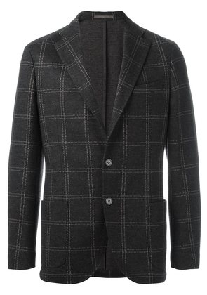 Eleventy checked blazer